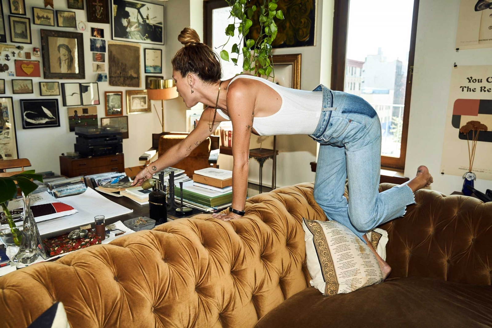 Erin Wasson Shows Us Around Her Nyc Loft The File
