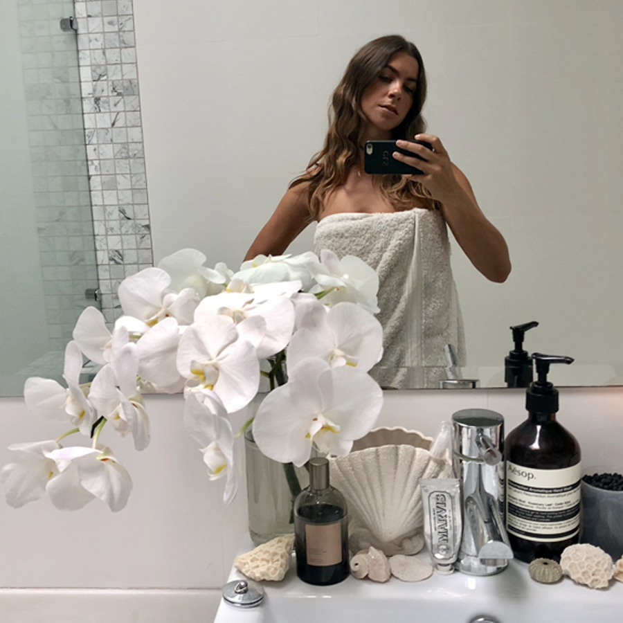Get Familiar With Florist And Set Designer Christelle Scifo's Entire Beauty Routine